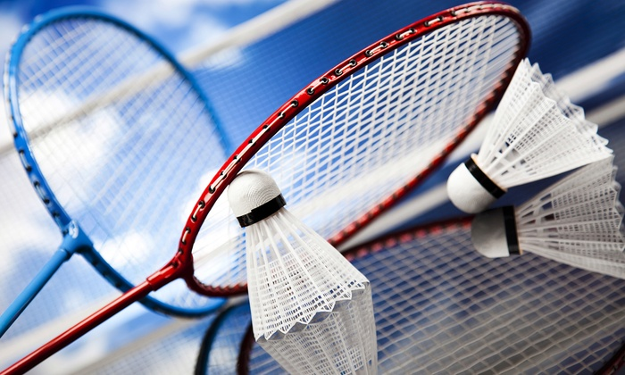 RichmondPro Badminton Center - City Centre: Badminton Fitness Play for Two or Four at RichmondPro Badminton Center (Up to 55% Off)