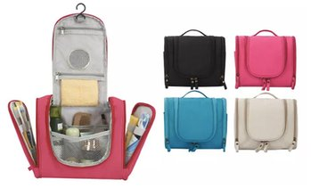 Hanging Travel Toiletry Bag Cosmetic Makeup Organizer Zipper Case