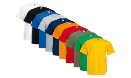 10 T-shirt Fruit Of The Loom