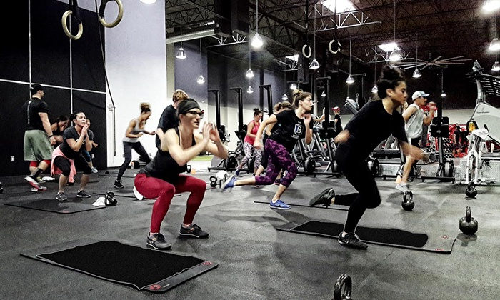 Sweathaus Health and Fitness - Sweathaus Health and Fitness: One, Two, or Three Months of Fitness Classes with Gym Membership at Sweathaus Health and Fitness (Up to 71% Off)