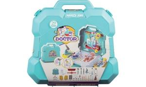 Valise de pédiatre pour enfant avec accessoires WDK Partner