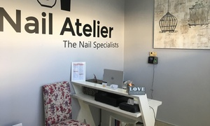 Nail Atelier Salon: Standard, Gel or Evo2 Mani-Pedi, or a Full Set of Acrylic Nails at Nail Atelier Salon (Up to 51% Off)