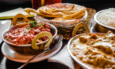 ThreeCourse Indian Dinner with Sides & Wine: 2 $35, 4 $65 or 6 People $95 at Johnny's Kitchen Up to $267.75 Val