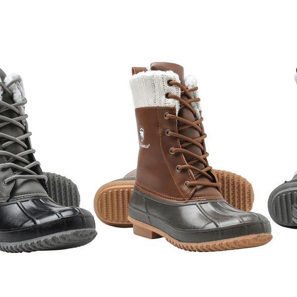 Off on Women's Waterproof Duck Boots