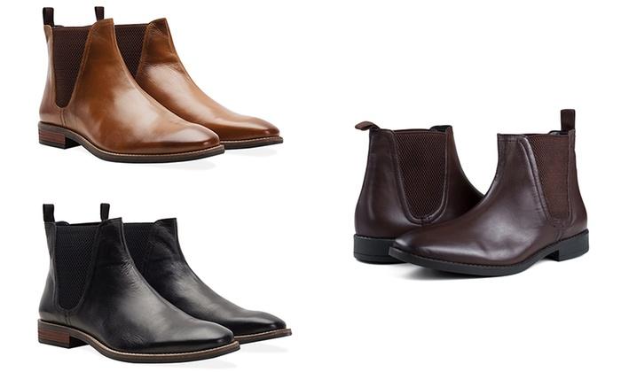 Ermäßigung Preis NEU Redfoot Herren Chelsea Boots Stiefel