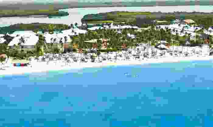 Be Live Grand Punta Cana with Round-Trip Airfare - La Altagracia: Five- or Seven-Night All-Inclusive Vacation with Airfare at Be Live Grand Punta Cana in the Dominican Republic