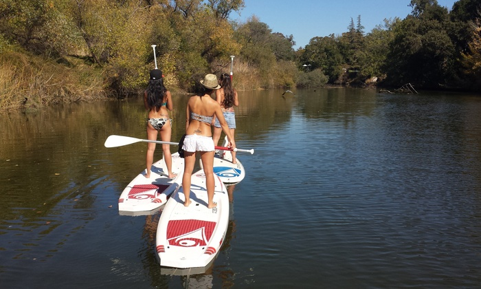 Napa Valley Paddle - Tours - Kennedy Park Boat Ramp: Guided Paddleboard or Kayak Tour with Oysters and Wine for Two or Four from Napa Valley Paddle (Up to 50% Off)