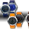 Bernoulli Ana-Digi Double-Sided Gemini Men's Watch