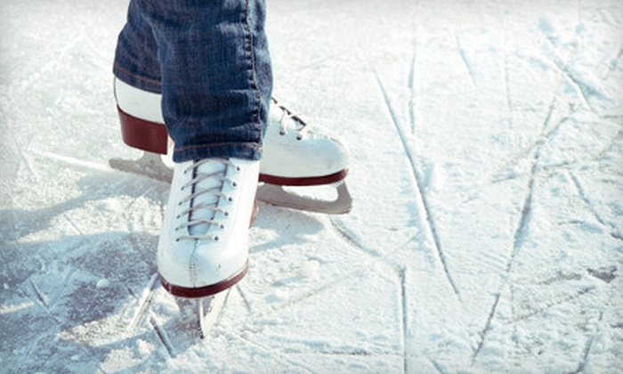 Iceland Sports Complex - Lyndon: Ice Skating with Skate Rental for Two, Four, or Six at Iceland Sports Complex (Up to 56% Off)