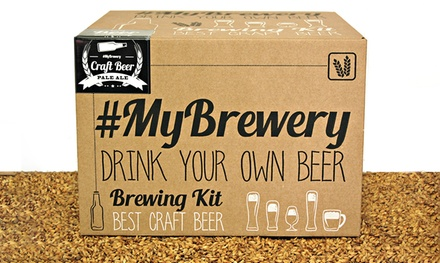 #MyBrewery Brew Your Own Pale Ale Kit for £59.99 With Free Delivery (28% Off)