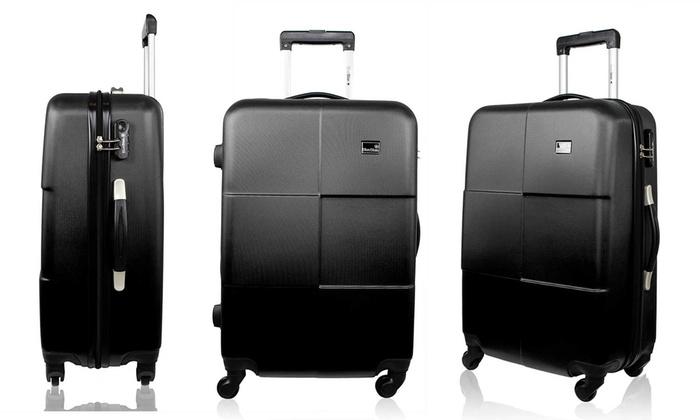 3 tlg koffer set groupon. Black Bedroom Furniture Sets. Home Design Ideas