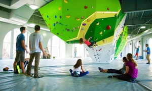"First Ascent Climbing: ""Learning The Ropes"" or ""Learning To Boulder"" Classes for One or Two at First Ascent Climbing (Up to 49% Off)"