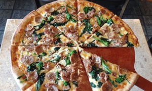 Nauna's Bella Casa: Italian Cuisine and Pizza at Nauna's Bella Casa (Up to 50% Off). Three Options Available.
