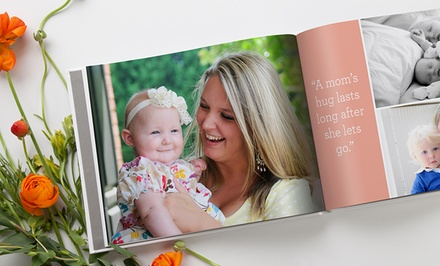 groupon daily deal - 20-Page Custom Classic or Deluxe Photo Book from MyPublisher (Up to 79% Off)