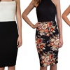 Women's High-Waist Pencil Skirt