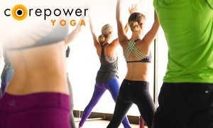 CorePower Yoga: $75 for One Month of Unlimited Yoga Classes at CorePower Yoga ($200 Value)