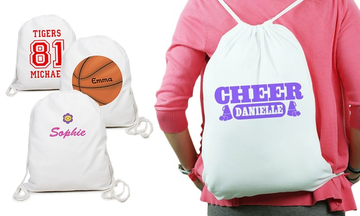 a47bc3494cfe Personalized Drawstring Bags (Up to 50% Off)