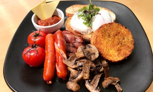 Sierra Coffee - Mt Eden: All-Day Breakfast or Lunch for One ($13), Two ($25) or Six People ($75) at Sierra Coffee - Mt Eden (Up to $129 Value)