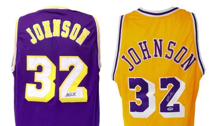 magic johnson jersey