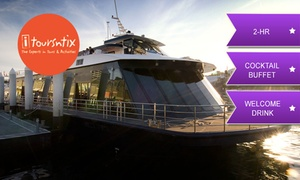 iToursntix: 2-Hr Vivid Festival Cruise with Buffet and Drink: Child ($42) or Adult Ticket ($55) with iToursntix (Up to $110 Value)