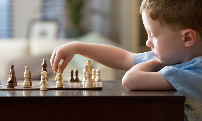 Smart Move Chess iKademy - Rego Park: Group Lesson for One, Two, or Four Kids at Smart Move Chess iKademy (58% Off)