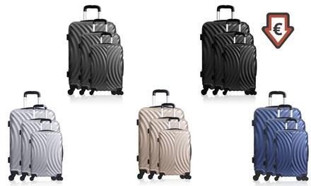 9ebde0c40 1 maleta trolley o set de 3 maletas Lollipops Ronmiel en diferentes ...