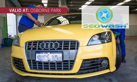 AirCon Bomb $49, Headlights Restoration $49, or Paint Restoration $199 at Geowash Osborne Park Up to $399 value