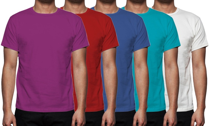 6be1f6b26 Up To 8% Off Gaffer Men's Cotton T-Shirts | Groupon
