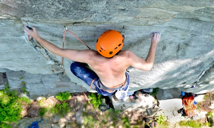 James Arnold - Rock City Starbucks: $49 for a Half-Day Guided Rock-Climbing Outing at Lookout Mountain from Rocky Top Guides ($225 Value)
