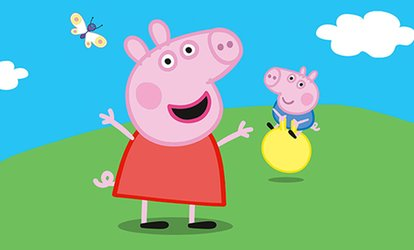 "image for Peppa Pig Live!: ""Peppa Pig's Surprise"" on April 15 at 4 p.m."