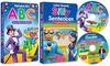 Preschool Phonics Set by Rock 'N Learn: Rock 'N Learn Preschool Phonics Set (4-Piece)