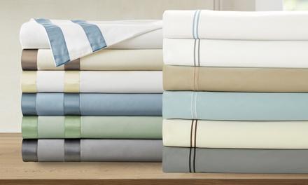 1000TC Cotton-Rich Italian Hotel Collection Sheet Set (6-Piece)