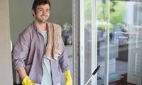 Reinigung für bis zu 10 oder 20 Fenster mit einfacher Rahmenreinigung bei Alphi Reinigung Services (bis zu 55% sparen*)