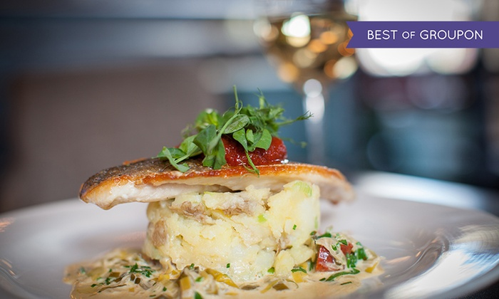 Gallaher & Co Bistro & Coffee House - Dublin: Three-Course Dinner for Two or Four at Gallaher and Co Bistro (Up to 50% Off)