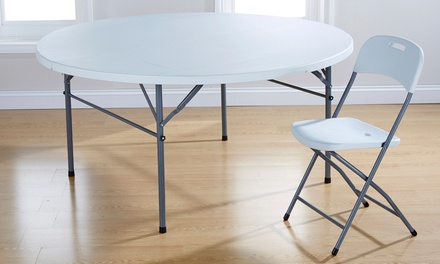 Folding Tables and Chairs in Choice of Design from £16.98 With Free Delivery