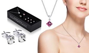 (Exclusive)  Bijoux cristaux Swarovski® -89% réduction