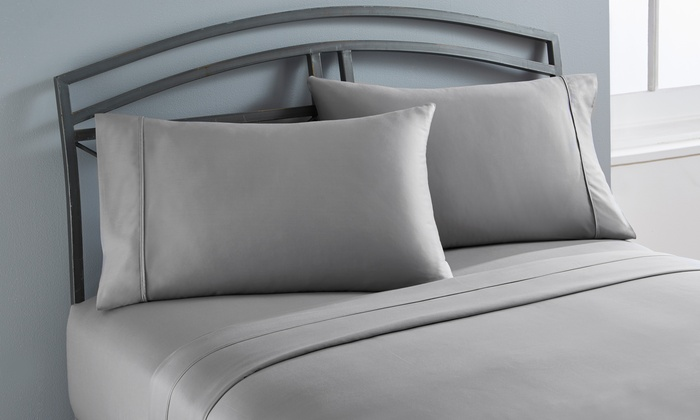 Clearance Wexley Home 300tc 100 Cotton Sheet Sets Groupon