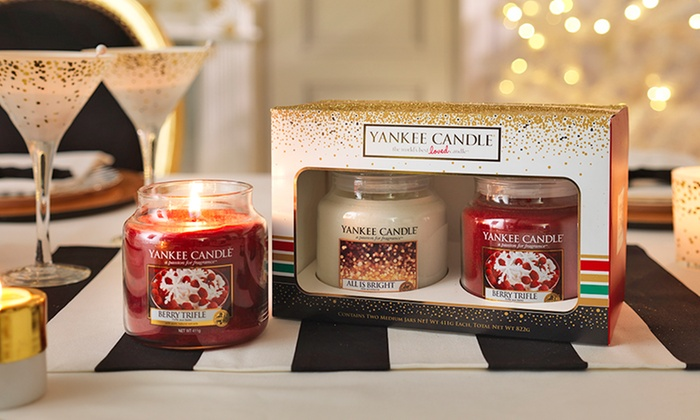 Yankee 2016 Xmas Candle Gift Set Groupon Goods