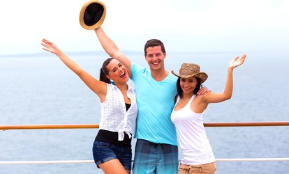 image for $168 Off $335 Worth of On A Boat / Cruise