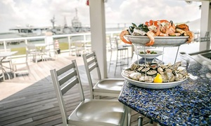 Charleston Harbor Fish House: Seafood and Steak for Dinner or Lunch at Charleston Harbor Fish House (Up to 40% Off). Three Options Available.