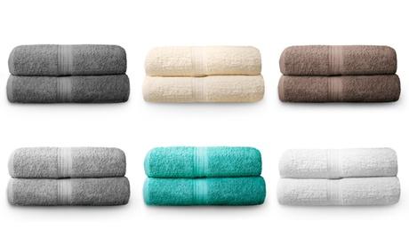 Pack de 2 toallas de baño Royal Kensington Oferta en Groupon