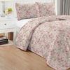 Floral Quilt Set (3-Piece)