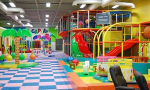 MEGAPLAY: Weekday or Any Day Open-Play Session for Two Children at MEGAPLAY (Up to 37% Off)