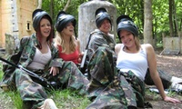 Paintball for Groups of up to Five, Ten, 15 or 20 People with Nationwide Paintball UK at Choice of Locations