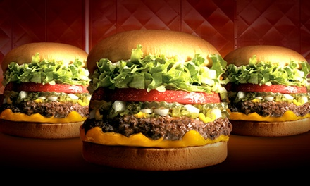 One or Two Groupons, Each Good for $16 Worth of Burgers and Sides at Fatburger Lake Tahoe (Up to 50% Off)