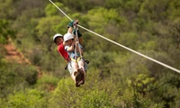 Mega Zipline Experience from R349 for Two at Koepel Mega Zip Adventures (Up to 61% Off)