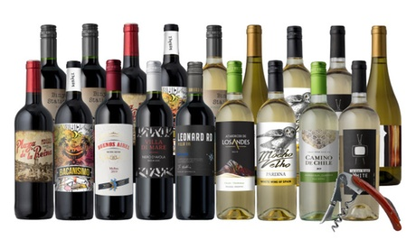 18-Bottle Mega-Pack + Free Gift from Until Next Time Wines (77% Off)