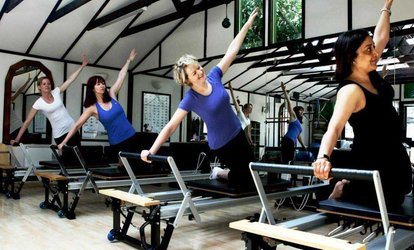 image for Up to Ten Pilates Sessions for One or Two, or Five One-to-One Sessions at Fit from Within (Up to 73% Off)