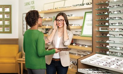 $40.50 for $225 Toward a Complete Pair of Prescription Glasses or Sunglasses at Pearle Vision