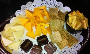 Pleasant Hill Winery: Tour, Cheese, Chocolate, and Souvenir Wineglasses for Two or Four at Pleasant Hill Winery (Up to 41% Off)